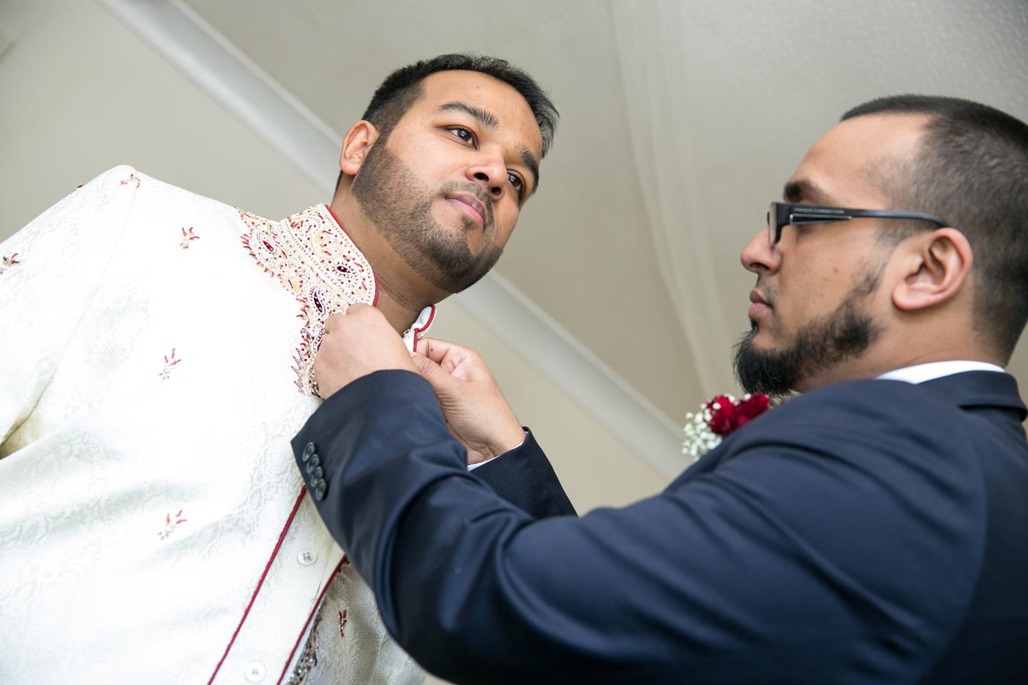 Wedding Photography of Groom getting ready by MAKSAM London Photographer
