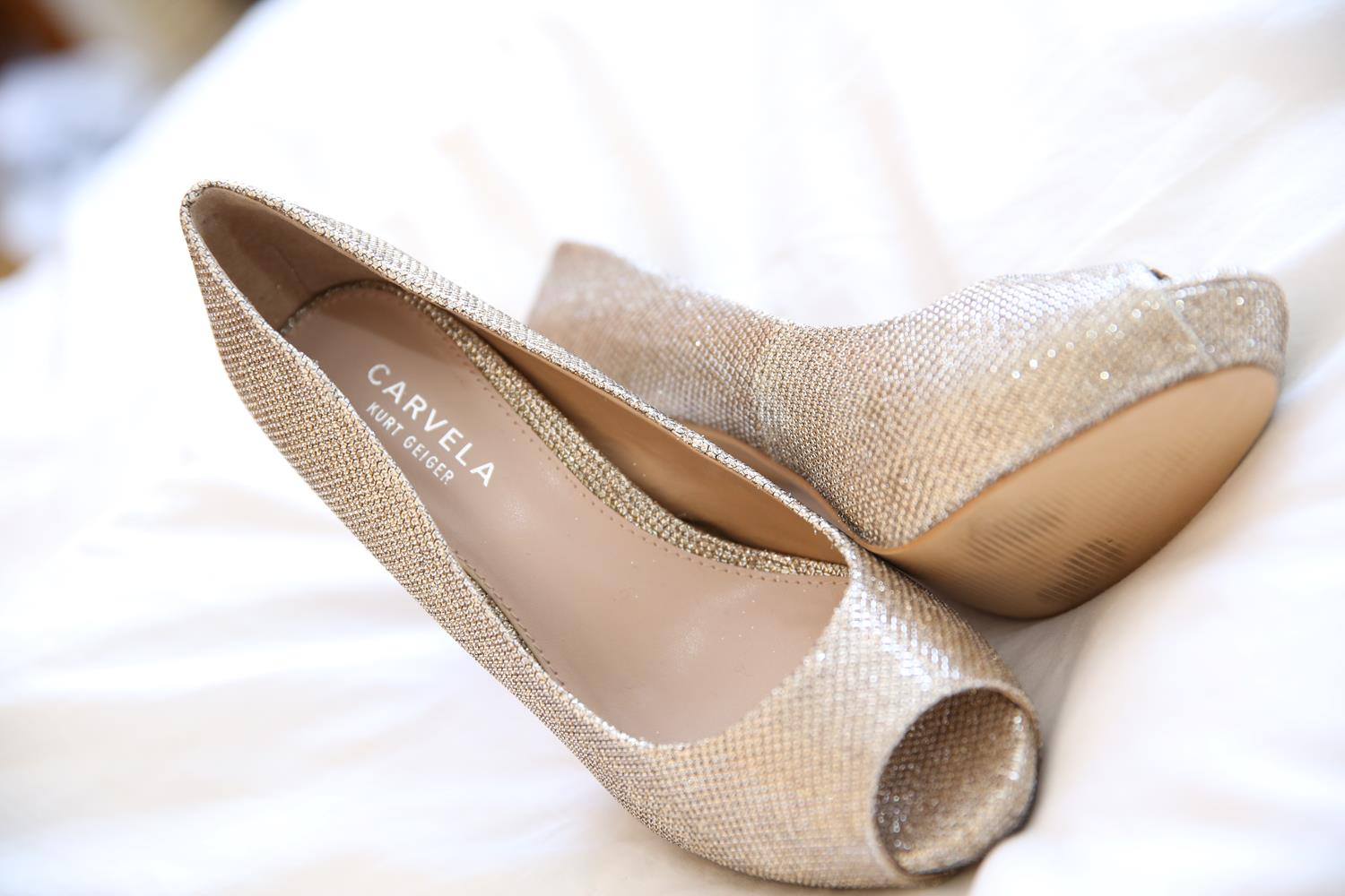 Wedding Photography of Bridal shoes by MAKSAM Photographer London