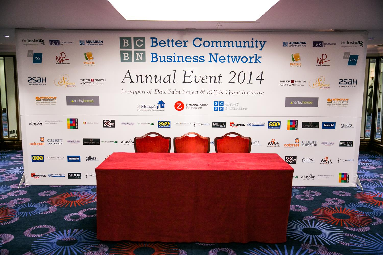 Corporate Photography of BCBN event by MAKSAM Photography in London