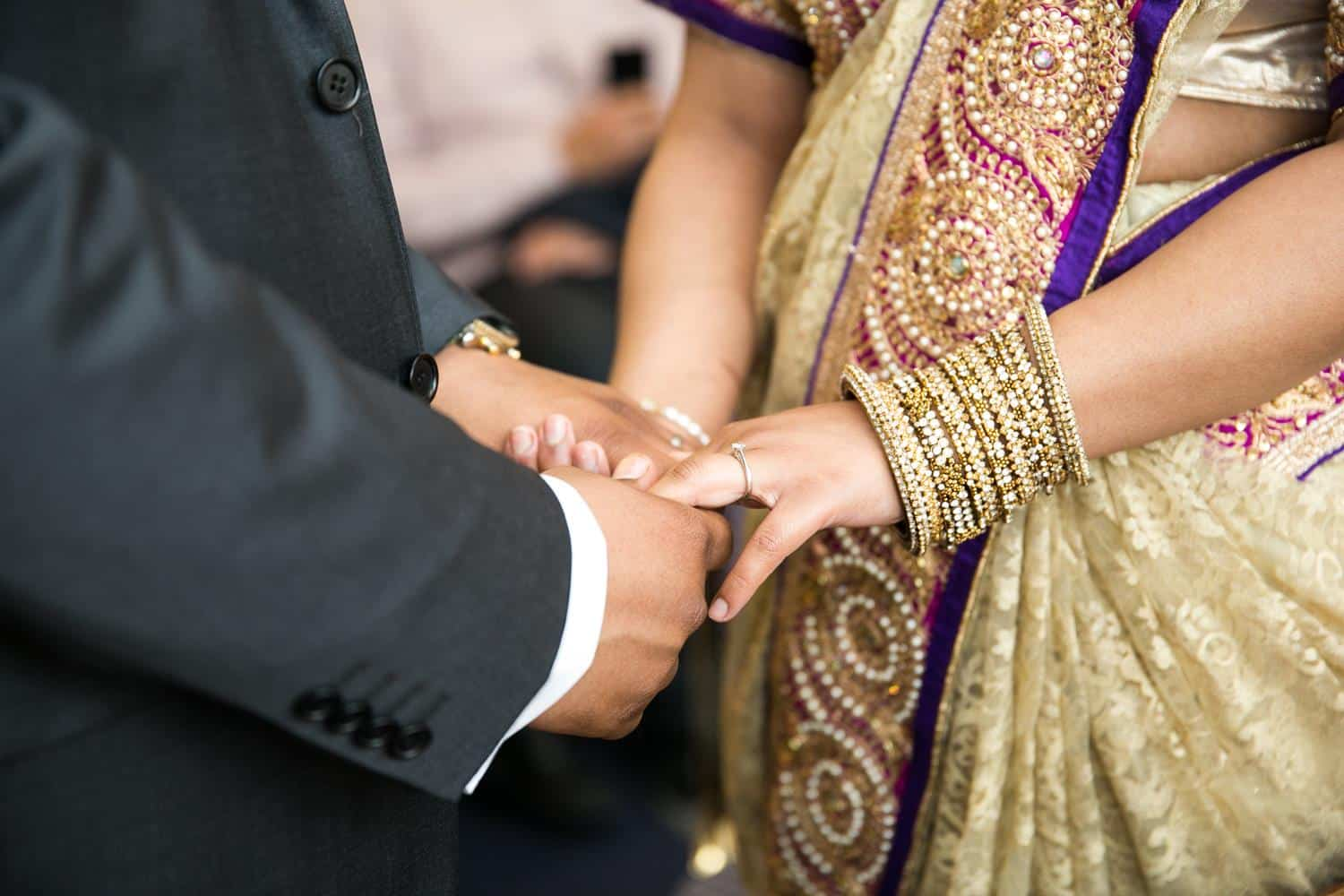 Registry Photography of couple holding hands by MAKSAM Photography