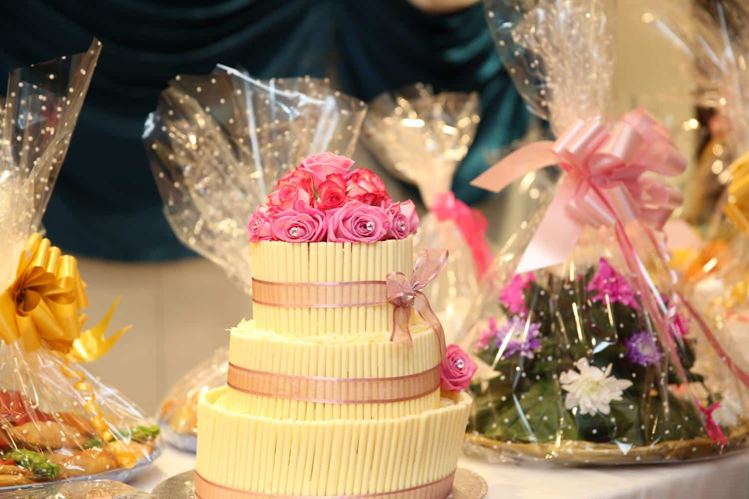 Straw Cake at Asian Wedding Photography by MAKSAM Photography