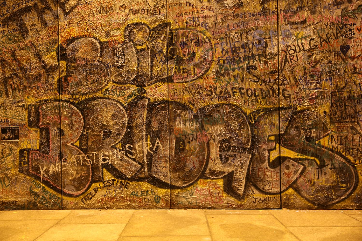 Graffiti wall by MAKSAM Photography