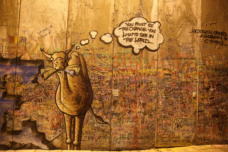 Graffiti wall in London by MAKSAM Photography